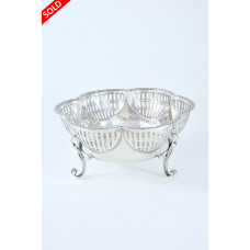 Antique Silver Bowl 1913