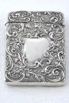Edwardian Silver Card Case 1905