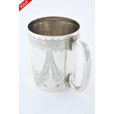 Edwardian Silver Christening Mug 1904