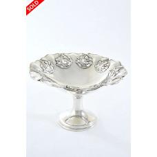 Art Nouveau Silver Pedestal Dish – Chester 1908
