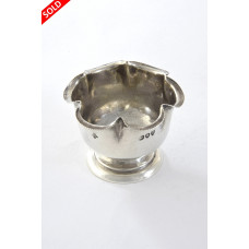 Victorian Silver Egg Cup 1894