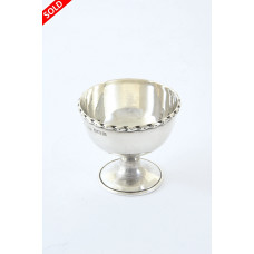 Edwardian Sterling Silver Egg Cup 1911