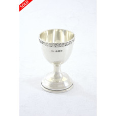 Silver Egg Cup 1925