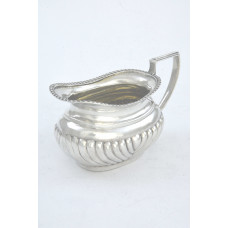 Antique Silver Cream Jug – Victorian 1898