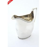 Georgian Silver Cream Jug 1800 – Thomas Wallis II
