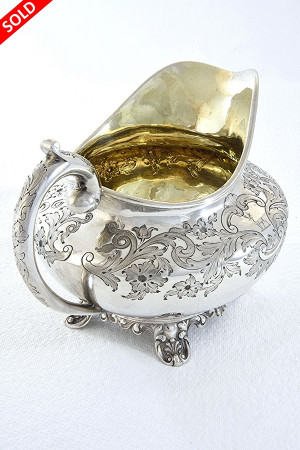 William IV Silver Milk Jug 1837