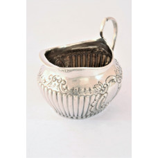 Victorian Antique Silver Cream Jug 1895