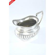 Victorian Silver Cream Jug 1900