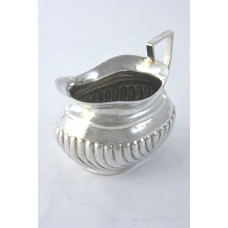 Edwardian Silver Cream Jug 1902