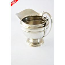 Antique Silver Milk Jug 1915