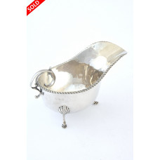 Solid Silver Cream Jug 1924