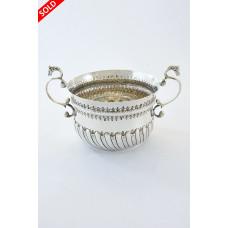 Victorian Silver Porringer 1881