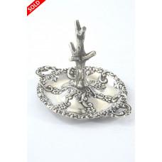 Edwardian Silver Ring Tree 1904