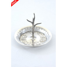 Edwardian Silver Ring Tree – Chester 1908