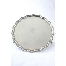 Victorian Silver Salver 1870