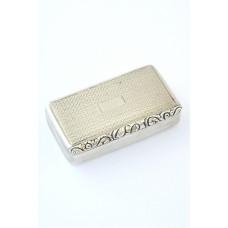 George IV Silver Snuff Box 1822