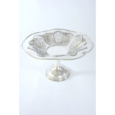 Large Edwardian Silver Tazza 1908