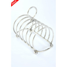 Antique Silver Toast Rack (6 Slice) – Chester 1912