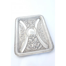 Edwardian Sterling Silver Dressing Table Tray 1902