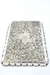 Edwardian Silver Dressing Table Tray 1903