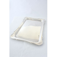 Antique Silver Dressing Table Tray – Chester 1912