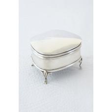 George V Silver Trinket Box – Chester 1918