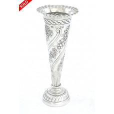 Antique Silver Posy Vase – Victorian 1897