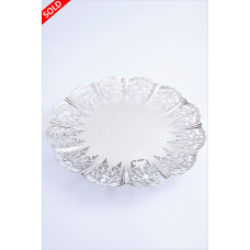 Large Sterling Silver Fruit Dish 1939