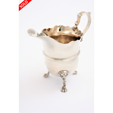 Antique Silver Cream Jug 1898